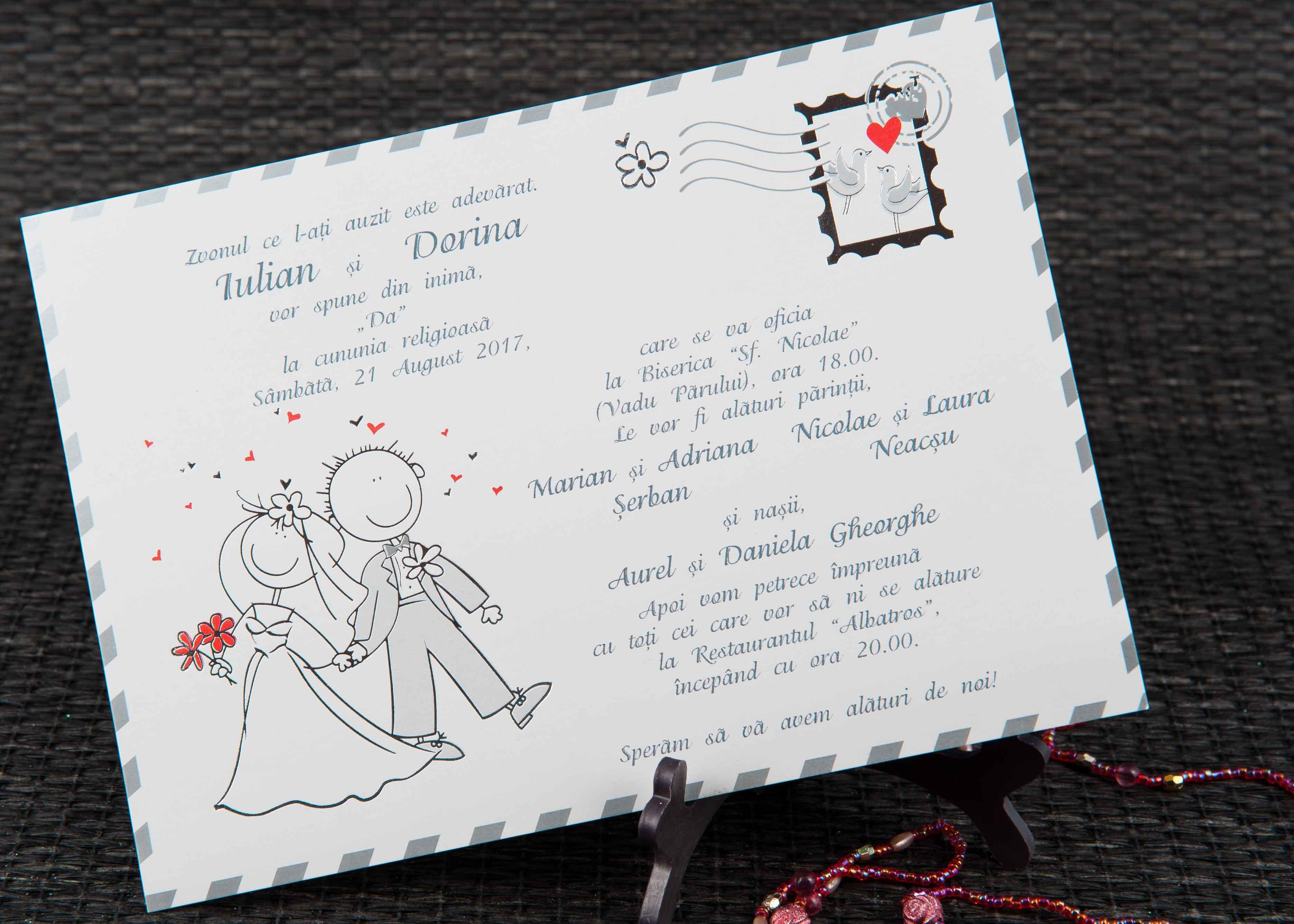 Invitatii Nunta 20440 Invitatii Garf