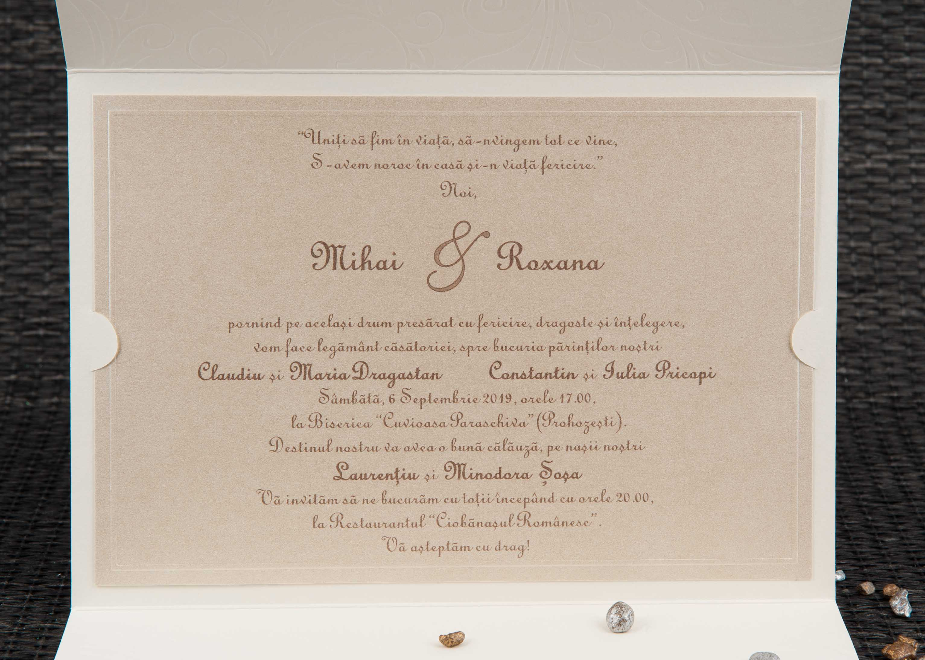 Invitatii Nunta 20804 Invitatii Garf