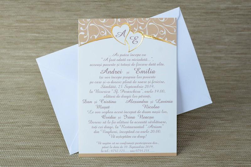 Invitatii Nunta 35236 Invitatii Garf