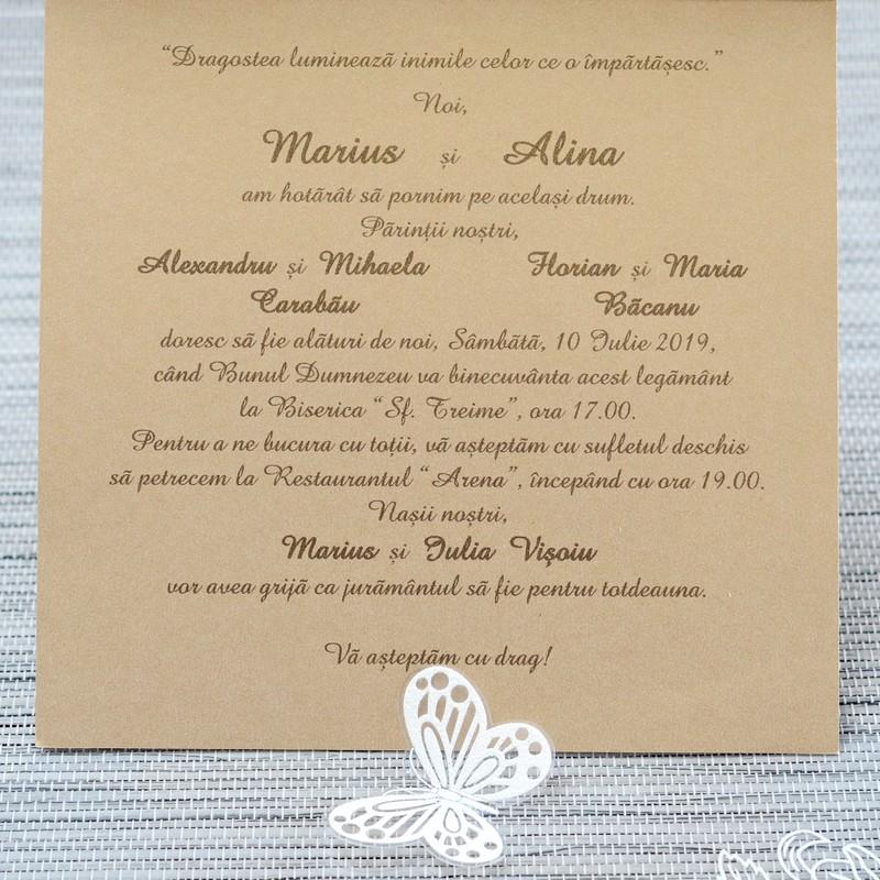 Invitatii Nunta 1116 Invitatii Garf