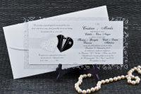 invitatii nunta argintii 1075