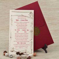 invitatie nunta clasica