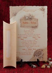 invitatie papirus 1034