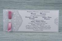 invitatie nunta fundita