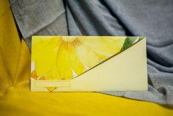Invitatii nunta ieftine 214 floarea soarelui