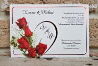 invitatii nunta ieftine 2656 tip felicitare