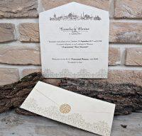 invitatii nunta ieftine fara plic 2663