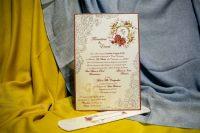 invitatii nunta papirus pergament 3221