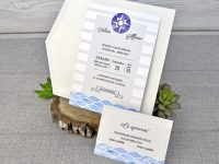 invitatii nunta tema marina 39306