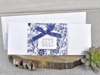 invitatii nunta albastre elegante 39327