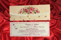 invitatii nunta 419 crem