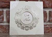 invitatie nunta 5535 eleganta clasica
