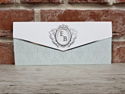 invitatie nunta 5662 eleganta clasica