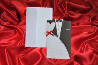 invitatii de nunta 594 mire si mireasa