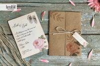 invitatii nunta vintage clasice 70255