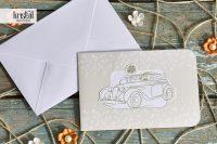 invitatii nunta 70334 cu masinuta