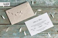 Invitatii nunta 70342 clasice simple elegante