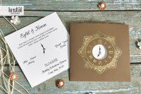 invitatii nunta 70351 cu ceas
