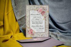 invitatii nunta simple ieftine 973
