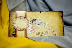invitatii nunta 996 vintage
