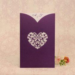 invitatii nunta mov 2205
