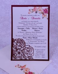 invitatii nunta gravate 2229