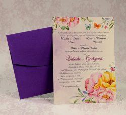 invitatii nunta mov 2210