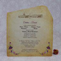 invitatii nunta castel 2208