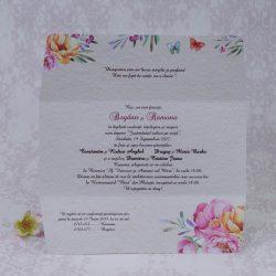 invitatii nunta vintage 2209