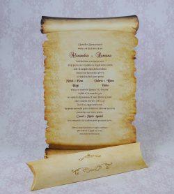 invitatii nunta papirus 2206