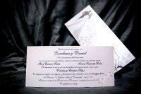 invitatie nunta 5015 clasica cu fluturi moderna