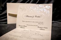 invitatie nunta 1401 clasica eleganta moderna