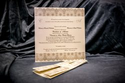 invitatie nunta 5026 eleganta clasica ieftina