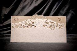 invitatie nunta 6028 eleganta clasica