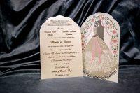 invitatie nunta 5024 clasica moderna eleganta