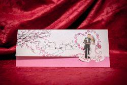 invitatie nunta 5004 moderna haioasa ieftina