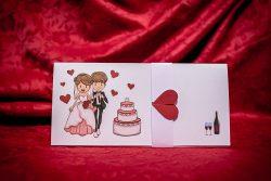 invitatie nunta 5007 haioasa papirus ieftina