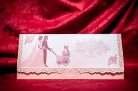 invitatie nunta 5019 eleganta ieftina