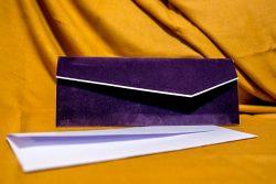 invitatie nunta 4033 eleganta clasica mov