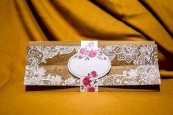 invitatie nunta 4041 clasica moderna eleganta ieftina