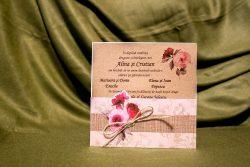invitatie nunta 4015 clasica moderna