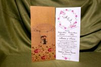 invitatie nunta 4011 clasica haioasa moderna ieftina