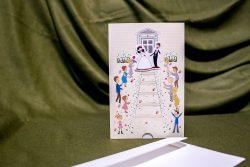 invitatie nunta 5017 haioasa moderna