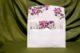 invitatie nunta 4012 cu flori eleganta clasica