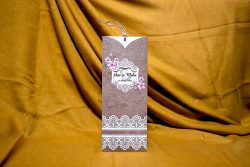 invitatie nunta 4019 clasica moderna ieftina