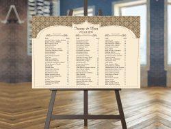 lista invitati carton