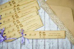 marturie nunta semn carte personalizat